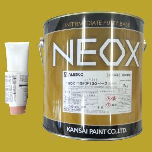 関西ペイント 917-355 NEOX中間パテ120 硬化剤付きセット 3.1kgセット|sspaint