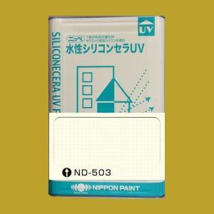 日本ペイント 水性シリコンセラUV  色:ND-503 15kg(一斗缶サイズ)