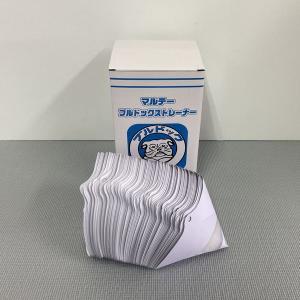 ペイントストレーナー 水性・溶剤兼用 ブルドックストレーナー 100枚入 1箱|sspaint