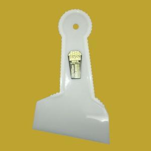 ジラコヘラ(建築用パテべラ)125  幅125mm  全高195mm|sspaint