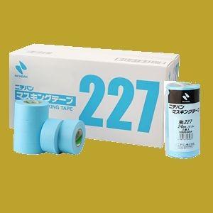 ニチバン NO.227 マスキングテープ 15mm×18M 80巻入 小箱
