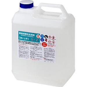 プラザ・オブ・レガシー 超強力業務用特殊洗浄剤 凹凸塗装面・石材(大理石)洗浄剤 S-2 4L|sspaint