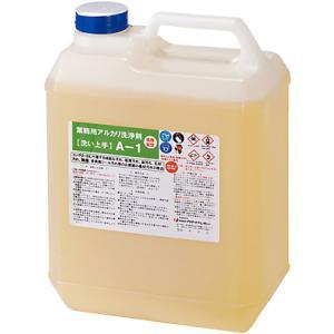 プラザ・オブ・レガシー 超強力業務用特殊洗浄剤 コンクリート汚れ・油汚れ洗浄剤 A-1 4L|sspaint