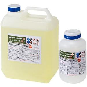 プラザ・オブ・レガシー 超強力業務用特殊洗浄剤 浴室や木部コンクリートのかび洗浄剤 A-2 5Lセット|sspaint