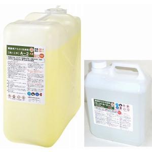 プラザ・オブ・レガシー 超強力業務用特殊洗浄剤 浴室や木部コンクリートのかび洗浄剤 A-2 20Lセット(一斗缶サイズ)|sspaint