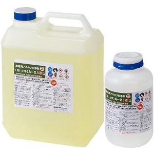 プラザ・オブ・レガシー 超強力業務用特殊洗浄剤 浴室や木部コンクリートのかび洗浄剤 A-2 2.5Lセット|sspaint