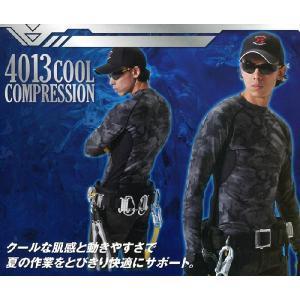 4013 クールコンプレッション クロカメ被服(BURTLEバートルWORKBOX)メール便送料無料最大1個まで コンプレッション・インナー 特別 sss-uniform