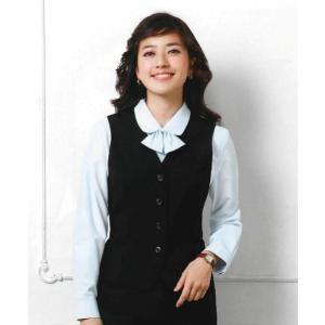 E2011 ベスト 神馬本店(selectstage)事務服・制服メーカーカタログより40%OFF5号〜19号 ポリエステル100%|sss-uniform