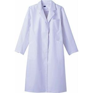 WH10203 レディースシングルコート (自重堂WHISeL) 社名刺繍無料 S〜4L ポリエステル80%・綿20%|sss-uniform