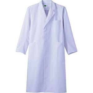WH10207 メンズシングルコート (自重堂WHISeL) 社名刺繍無料 S〜5L ポリエステル80%・綿20%|sss-uniform