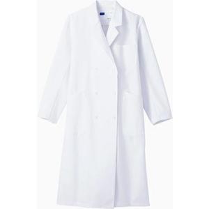 WH10213 レディースダブルコート (自重堂WHISeL) 社名刺繍無料 S〜4L ポリエステル80%・綿20%|sss-uniform