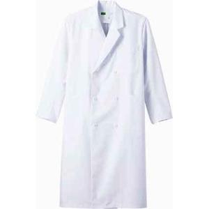 WH10217 メンズダブルコート (自重堂WHISeL) 社名刺繍無料 S〜5L ポリエステル80%・綿20%|sss-uniform