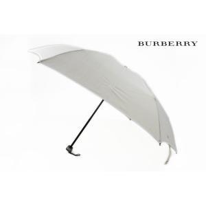 バーバリー 折りたたみ 雨傘 レディース チェック 女性 ブ...