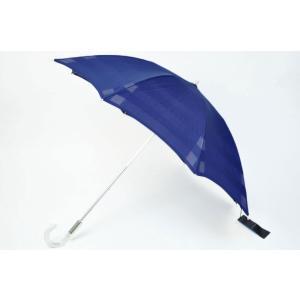 バーバリー 日傘 傘 BURBERRY オーガンジー ボーダ...