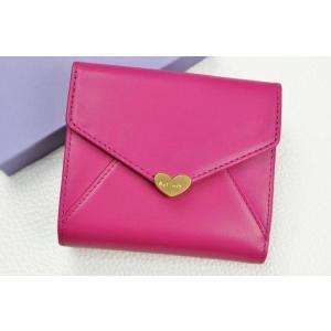 ポールスミス ラブレター 二つ折り  財布 箱付 ピンク...