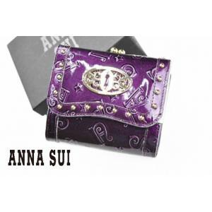 アナスイ 財布 二つ折り財布 レディース 婦人 ブランド が...
