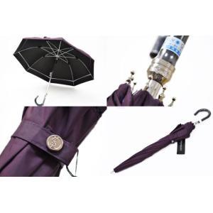 訳あり イヴサンローラン 日傘 傘 レディース 1級遮光 パープル 女性 ブランド UVカット 晴雨兼用 長傘|ssseason|03
