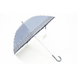 アンテプリマ 日傘 1級遮光 晴雨兼用 チェック フラワー ...