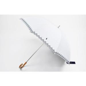 ラルフローレン 日傘 傘 レディース ピンキングカット × ...