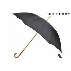 バーバリー BURBERRY メンズ  雨傘  長傘 黒 紳...