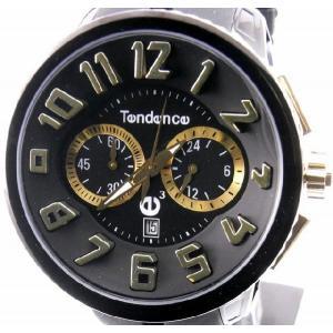 即納可 テンデンス 腕時計 ラウンドガリバー 02046011 クロノグラフ|ssshokai