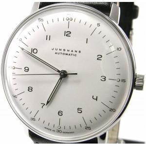 即納可 ユンハンス 国内正規品 JUNGHANS 腕時計 マックスビル 027 3500 00 オートマティック ssshokai