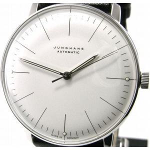 即納可 ユンハンス 国内正規品 JUNGHANS 腕時計 マックスビル 027 3501 00 オートマティック ssshokai