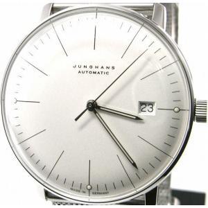 即納可 ユンハンス 国内正規品 JUNGHANS 腕時計 マックスビル 027 4002 44M オートマティック ssshokai