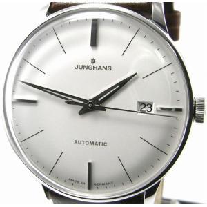 即納可 ユンハンス 国内正規品 JUNGHANS 腕時計 マイスター 027 4110 00 オートマティック ssshokai