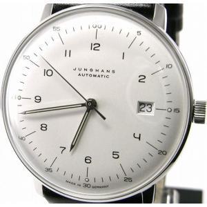 即納可 ユンハンス 国内正規品 JUNGHANS 腕時計 マックスビル 027 4700 00 オートマティック ssshokai