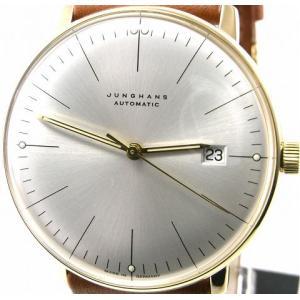即納可 ユンハンス 国内正規品 JUNGHANS 腕時計 マックスビル 027 7700 00 オートマティック ssshokai