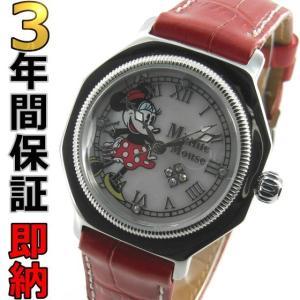 即納可 ディズニー 腕時計 ミニーマウス 1205MN-SS レディース 世界限定100本|ssshokai