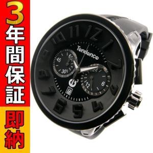 即納可 テンデンス 腕時計  ラウンドガリバー 02036010 クロノグラフ|ssshokai