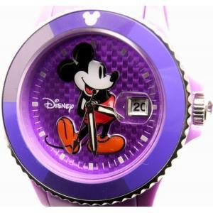 即納可 ディズニー 腕時計 D91084SVPU ミッキーマウス パープルベルト 在庫限り大特価|ssshokai