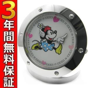即納可 ディズニー ミニーマウス 置時計 MK-112|ssshokai