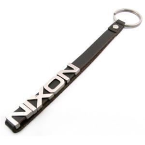 即納可 ニクソン NIXON キーホルダー スライダーキーチェーン ブラウンレザー|ssshokai