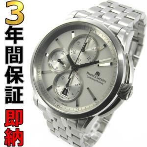 即納可 モーリスラクロア 腕時計 ポントス クロノグラフ PT6188-SS002-130 ssshokai