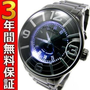 ロマゴデザイン 腕時計 RM007-0053SS-BK ssshokai