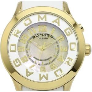 ロマゴデザイン 腕時計 RM015-0162PL-GDWH ssshokai