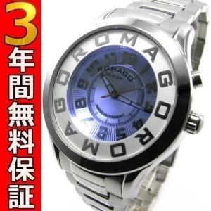ロマゴデザイン 腕時計 RM015-0162SS-SVWH ssshokai