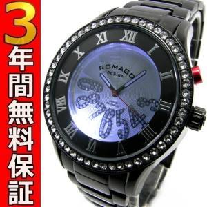 ロマゴデザイン 腕時計 RM019-0214SS-BKBK ssshokai