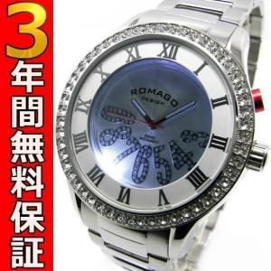 ロマゴデザイン 腕時計 RM019-0214SS-SVWH ssshokai