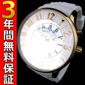 ロマゴデザイン 腕時計 RM068-0053PL-GDWH ssshokai