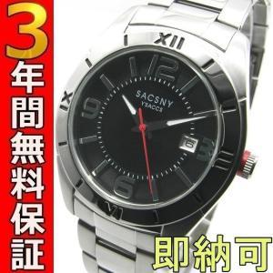 即納可 サクスニー・イザック 腕時計 SY-15053S-BKS|ssshokai