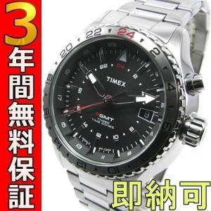 即納可 タイメックス 腕時計 T2P424 3-GMT|ssshokai