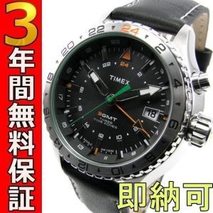即納可 タイメックス 腕時計 T2P452 3-GMT|ssshokai