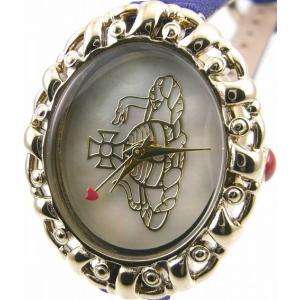 即納可 ヴィヴィアン ウエストウッド 腕時計 VIVIENNE WESTWOOD VV005CMBL ssshokai
