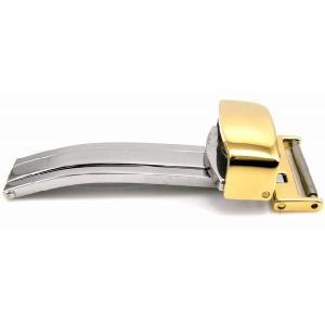 バンビ BAMBI Dバックル ZG04I 12mm イエローゴールド 腕時計用|ssshokai