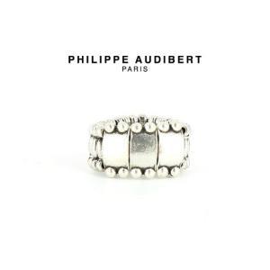 正規品 新作 Philippe Audibert フィリップ オーディベール BAGUE LOU シルバーメタル リング 指輪 PhilippeAudibert レディース[アクセサリー]|ssshop