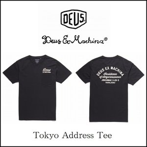 DeusExMachina デウスエクスマキナ Pocket Tokyo Tee ブラック 黒 ロゴ ポケTシャツ Deus Ex Machina メンズ[衣類] ssshop